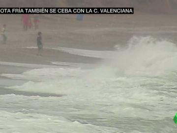 Granizo de un gran tamaño y vientos de 114 kilómetros por hora: la huella de la gota fría en la Comunidad Valenciana