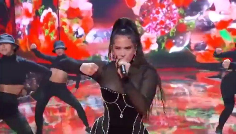 Rosalía afianza su carrera en los MTV Awards