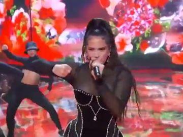 La actuación de Rosalía en los premios MVT de la que todo el mundo habla