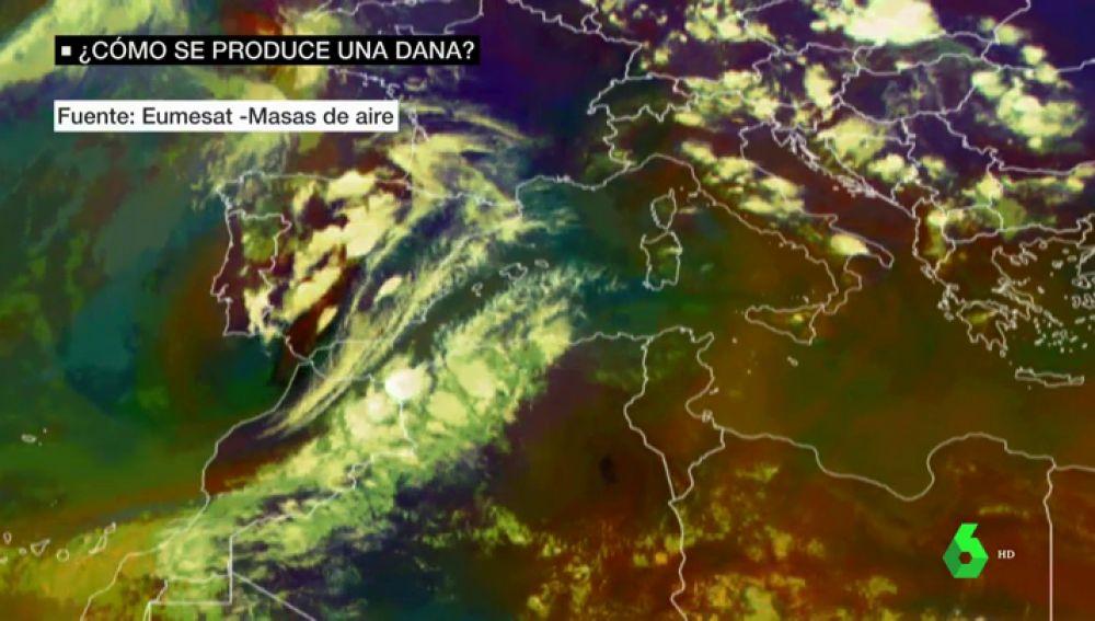 ¿Qué hay detrás de las lluvias que han azotado el centro peninsular?
