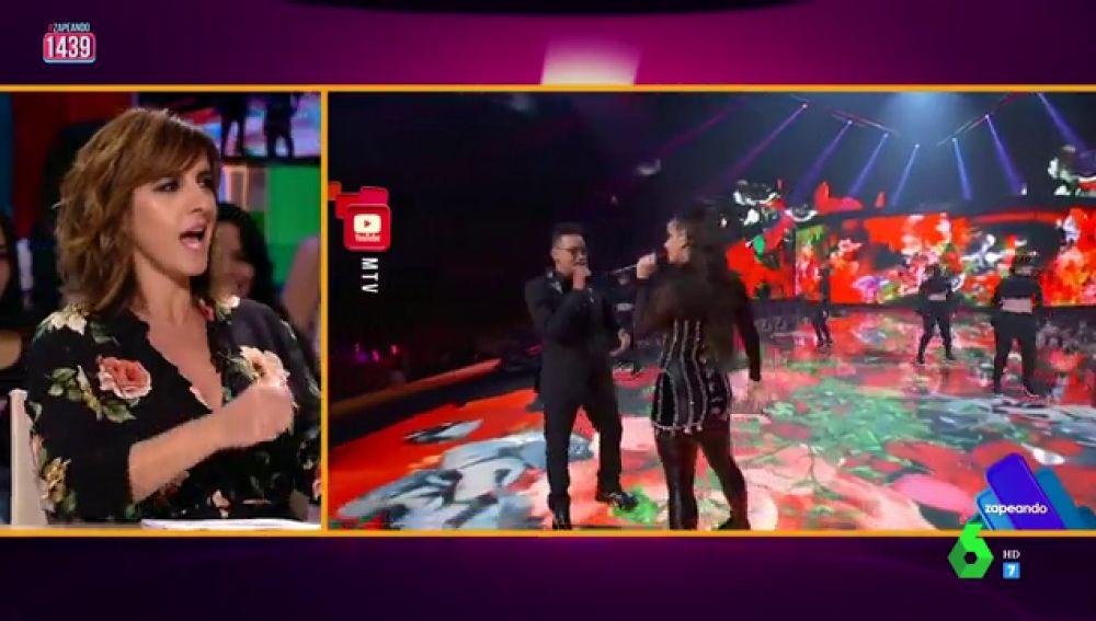 """Llum Barrera imita a ritmo de 'tra tra' (y sin uñas) a Rosalía: """"Muy bien"""", """"Buenamente, 'tra tra'"""""""