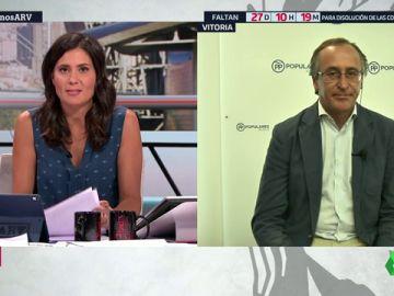"""Alfonso Alonso, sobre una posible coalición con Cs en Euskadi: """""""""""