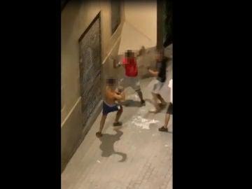 Pelea entre menores en Barcelona