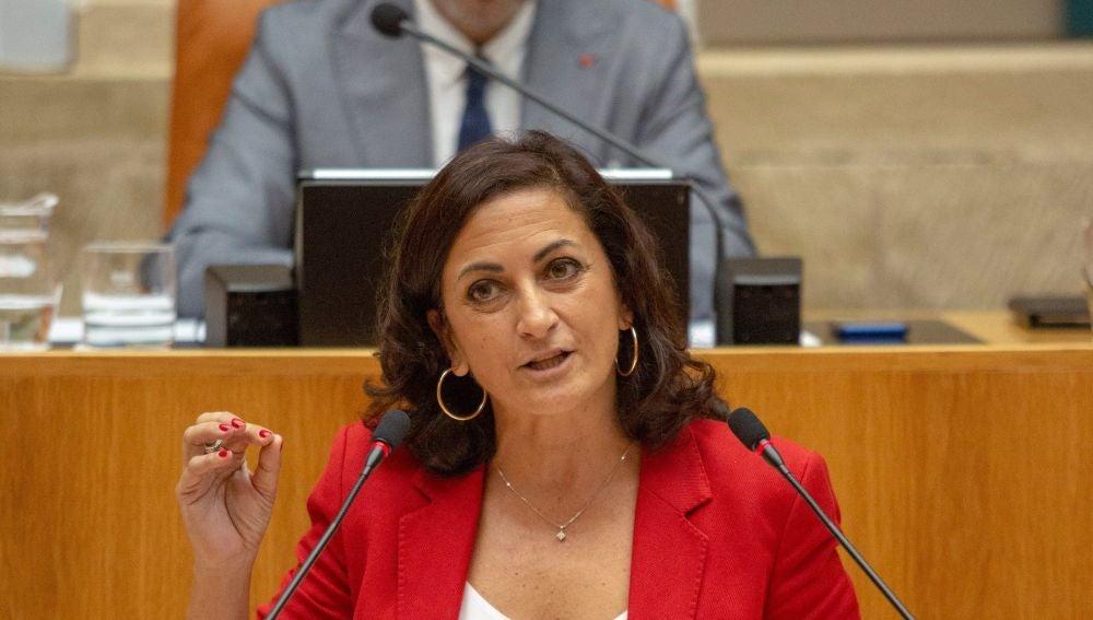 La presidenta de La Rioja Concha Andreu
