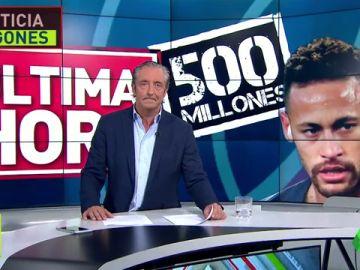 El Madrid considera una locuara la operación Neymar
