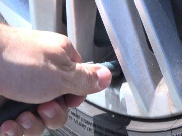 Presión en los neumáticos