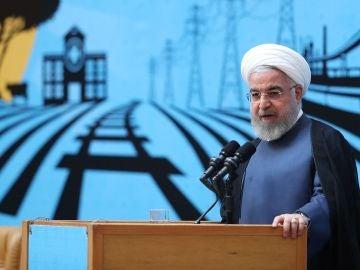 Hasan Rohaní, presidente de Irán