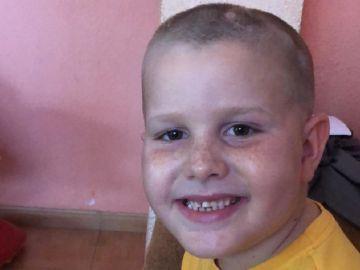Cristian tiene un tumor en el tronco encefálico del cerebro
