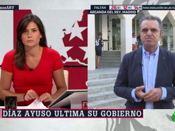 """José Manuel Franco: """"Estoy asustado ante los nombramientos de Díaz Ayuso"""""""