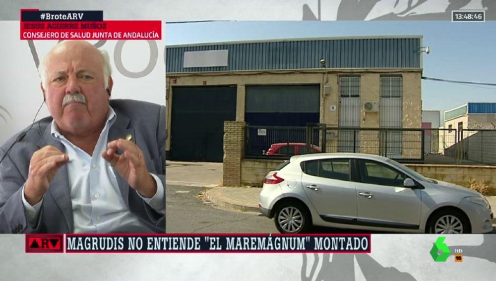 Aguirre, consejo de Salud de la Junta de Andalucía