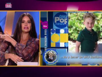 """El mensaje de Cristina Pedroche a Lara Spencer tras burlarse del príncipe George: """"Hazte así, que se te ha caído un comentario casposo"""""""