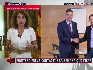 María Jesús Montero, en Al Rojo Vivo