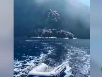 Nueva erupción del Estrómboli en Italia