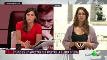 """Noelia Vera: """"Lo que conseguimos avanzar en julio debería ser el inicio de las conversaciones ahora"""""""