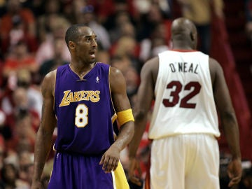 Kobe Bryant, contra Shaquille O'Neal