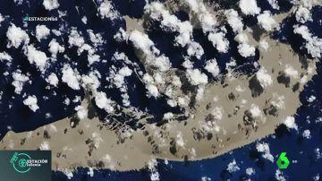 Isla piedra pomez