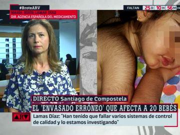 """La directora de la Agencia del Medicamento, sobre los bebés afectados por hipertricosis: """"Algo en la gestión de calidad del laboratorio ha fallado"""""""