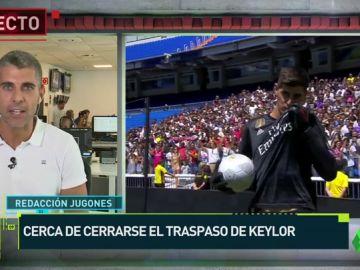 El traspaso de Keylor al PSG se cerrará pasada esta jornada