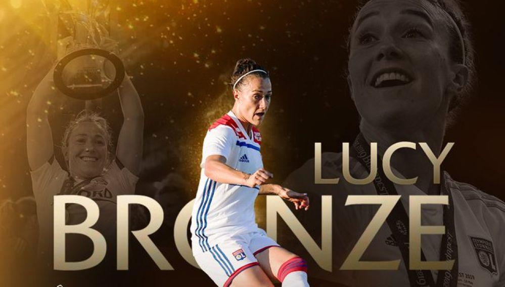 Lucy Bronze, Mejor Jugadora de Europa
