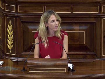 Cayetana Álvarez de Toledo, portavoz del PP en el Congreso