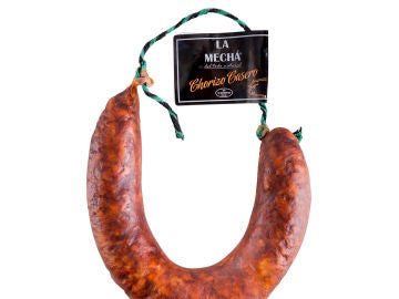 Chorizo de la marca 'La Mechá'