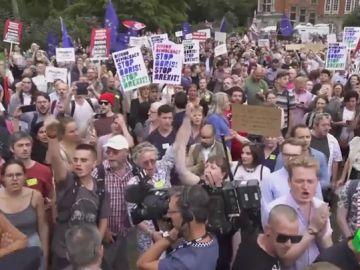 Cerca de un millón y medio de británicos firma en contra de la suspensión del Parlamento