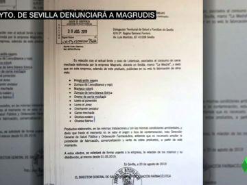 La Junta sabía que Magrudis vendía chorizos pero no los incluyó en la alerta hasta ocho días después