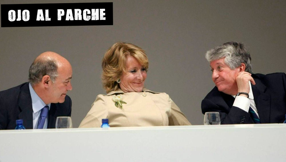 Díaz Ferrán, Aguirre y Arturo Fernández