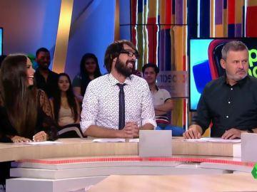 El solidario gesto de Quique Peinado con Frank Blanco en su despedida de Zapeando