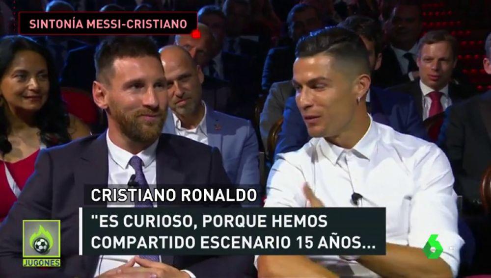 """La complicidad entre Cristiano y Messi: """"Espero que un día vayamos a cenar juntos"""""""