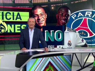 Florentino quiere juntar a Mbappé y VInicius en el Bernabéu