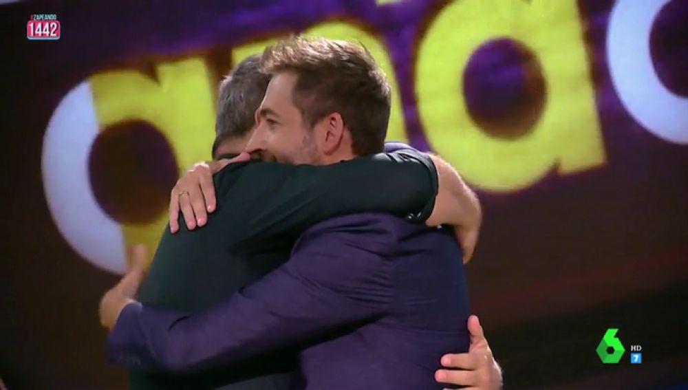 El motivo por el que Miki Nadal y Frank Blanco se abrazan al finalizar cada programa