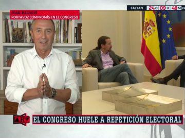 """Joan Baldoví: """"Dar una segunda oportunidad a la derecha para sumar sería suicida"""""""