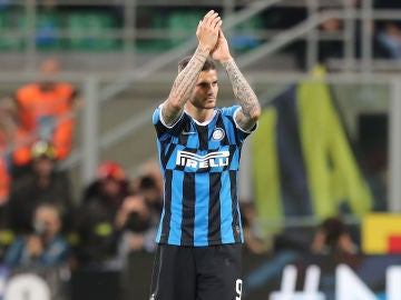 Mauro Icardi, con el Inter de Milán