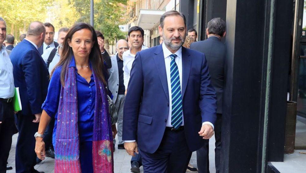 El ministro en funciones de Fomento, José Luis Ábalos