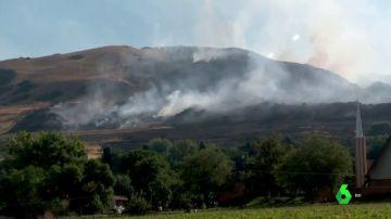 Incendio en Salt Lake City, Utah, Estados Unidos