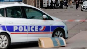 Un coche de polícia en Francia, en una imagen de archivo