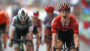 Arndt gana una etapa de la Vuelta