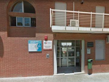 Centro de Salud al que fue trasladada la pequeña