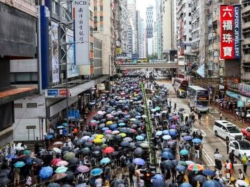 Nueva marcha masiva en Hong Kong