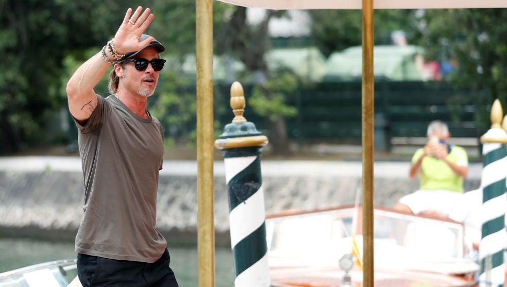 Brad Pitt en el festival de Venecia
