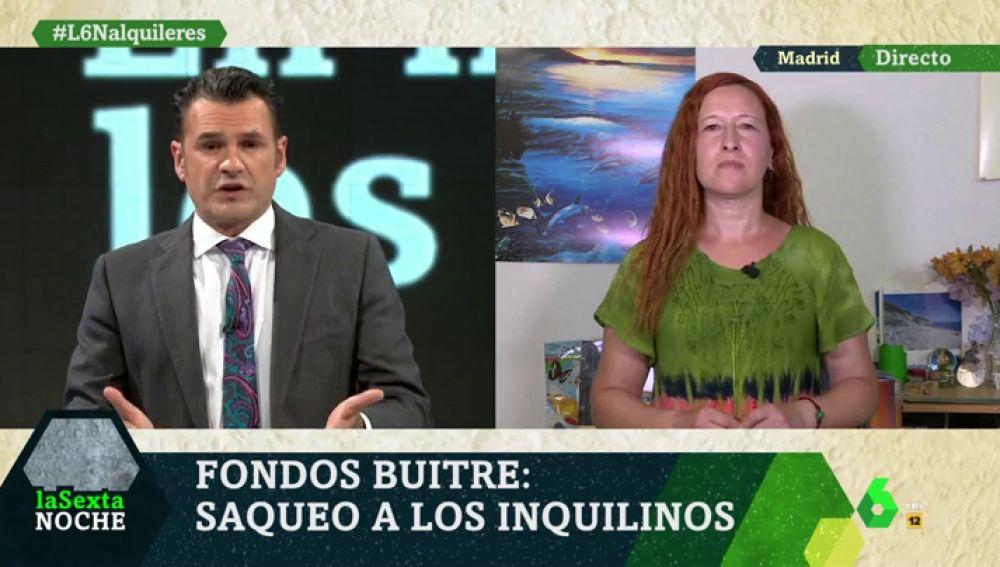 Entrevista a la portavoz de la asociación de afectados por los fondos buitre en Madrid