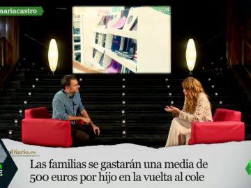 """María Castro: """"Si hay que conciliar, se da por hecho que la mujer renuncia a su vida laboral, es parte del machismo en el que vivimos"""""""