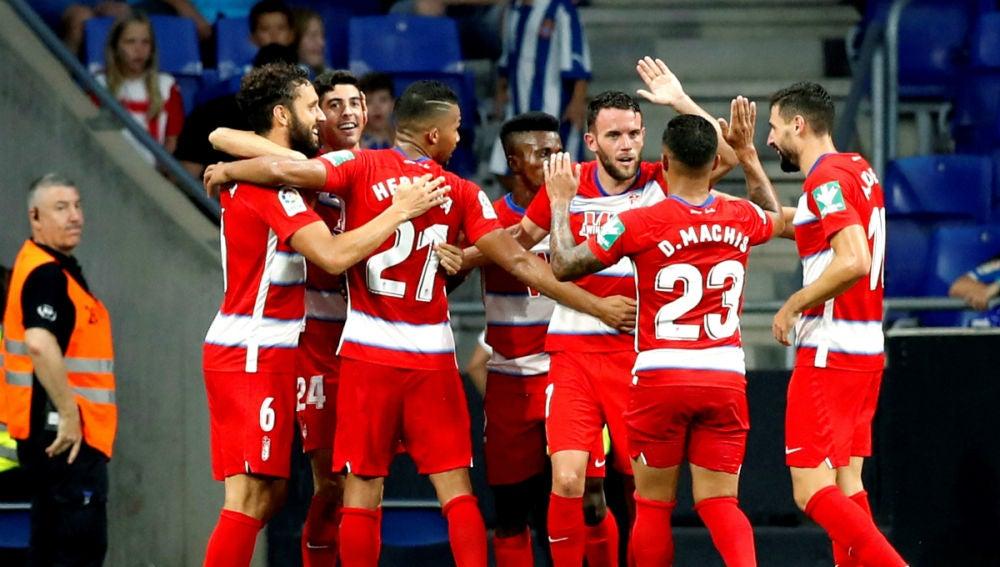 El Granada celebra una victoria