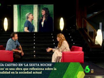 María Castro en laSexta Noche