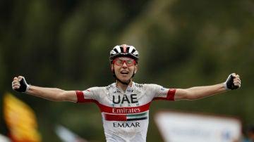 Pogaçar gana una etapa de la Vuelta