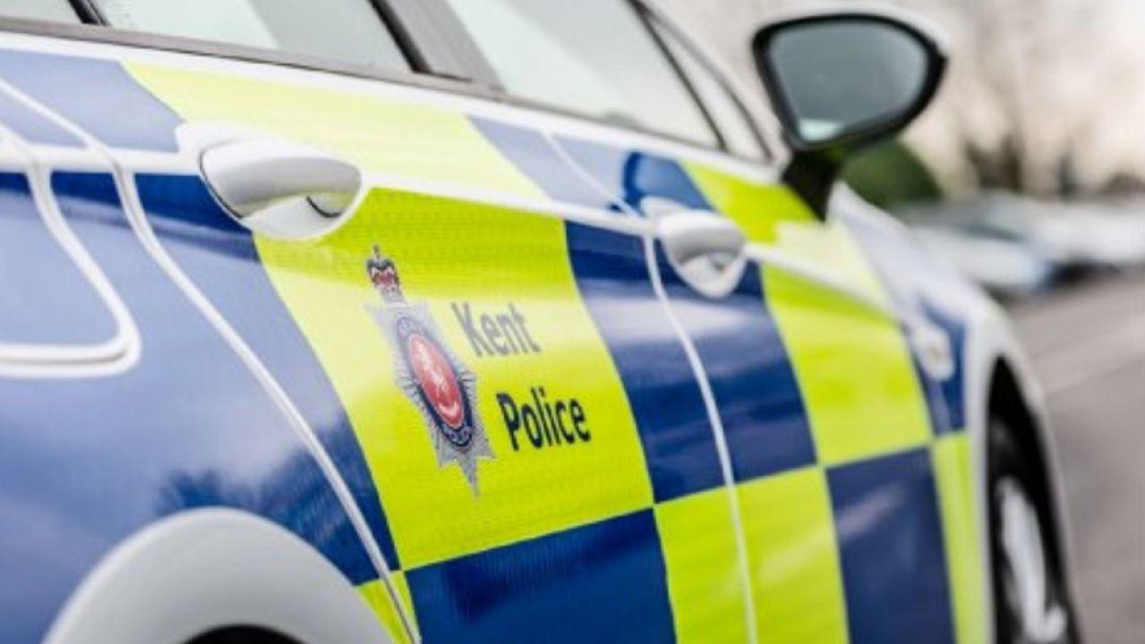 Coche de la Policía de Kent