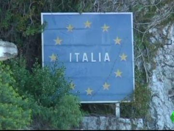 Frontera entre Italia y Francia