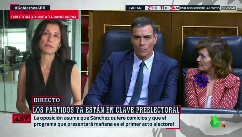 Lola García, directora adjunta de 'La Vanguardia'