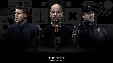 Pep Guardiola, Jürgen Klopp y Mauricio Pochettino, finalistas del 'The Best'